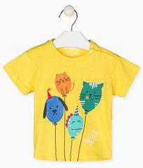 Losan chlapecké tričko 117-1203AL_1 68 žlutá