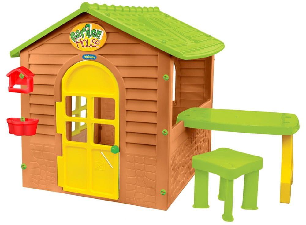 Mochtoys Zahradní domeček se stolečkem