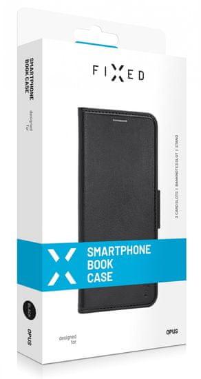 FIXED Pouzdro typu kniha Opus New Edition pro Xiaomi Redmi Note 9 Pro 5G FIXOP2-656-BK, černé