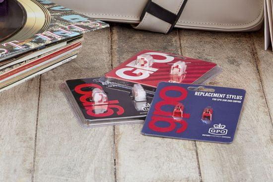 GPO Retro GPO16 náhradní jehla - 2 ks, červená