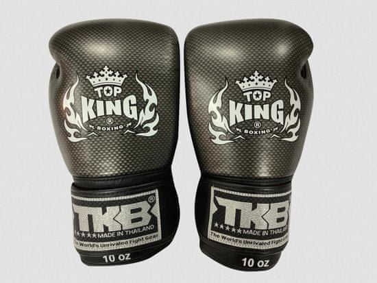 Top King Boxerské rukavice TOP KING Empower Creativity - černé
