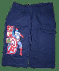 Avengers Chlapecké modré bavlněné kraťasy Avengers., 110