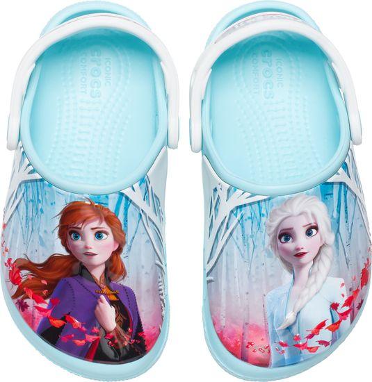 Crocs Disney Frozen 2 206167-4O9 dekliški natikači