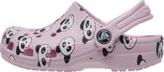 Crocs Classic Panda Print Clog K 206999-6GD dekliški natikači, 38/39, roza