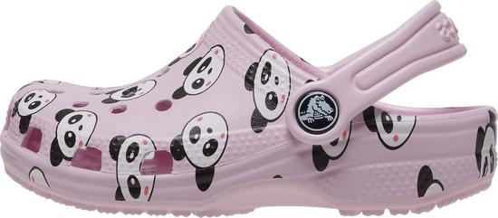 Crocs Classic Panda Print Clog K 206999-6GD dekliški natikači