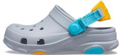 Crocs 207011-007 Classic All-Terrain Clog K dekliški natikači, sivi, 37/38