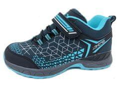 A221001 fantovski pohodni čevlji, modri, 28