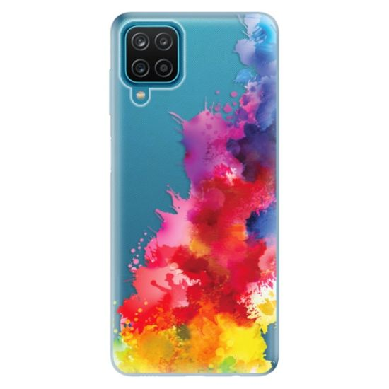 iSaprio Silikonowe etui - Color Splash 01 na Samsung Galaxy A12