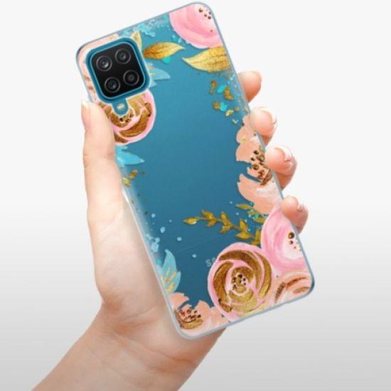 iSaprio Silikonowe etui - Golden Youth na Samsung Galaxy A12