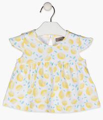 Losan dívčí tričko 118-1005AL 68 bílá