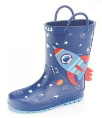 Wink BD11419 fantovski škornji, temno modri, 32