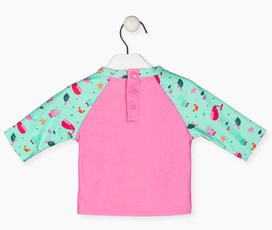 Losan dívčí tričko s UV ochranou 118-1010AL
