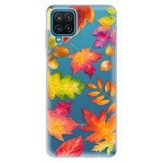 iSaprio Silikónové puzdro - Autumn Leaves 01 pre Samsung Galaxy A12