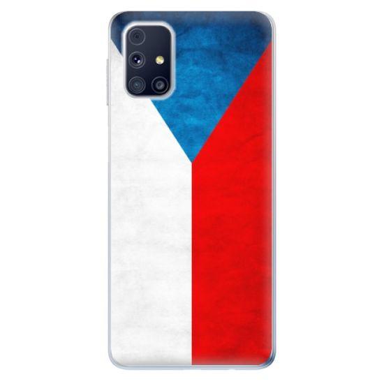 iSaprio Silikonowe etui - Czech Flag na Samsung Galaxy M31s