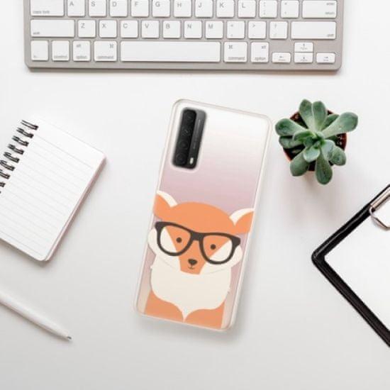 iSaprio Orange Fox szilikon tok Huawei P Smart 2021
