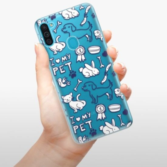 iSaprio Love my pets szilikon tok Samsung Galaxy M11