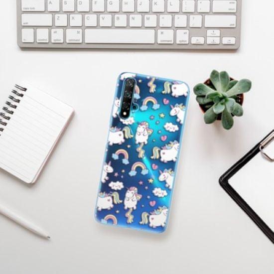 iSaprio Silikonowe etui - Unicorn pattern 02 na Huawei Nova 5T