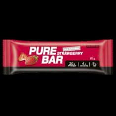 Prom-IN Pure bar 65 g (Příchuť Jahoda)
