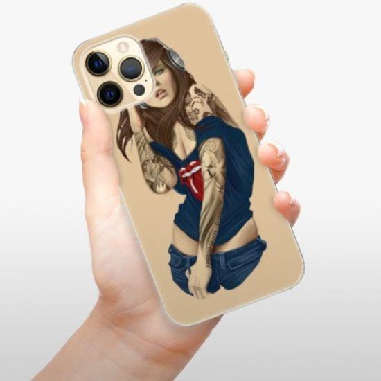 iSaprio Silikonowe etui - Girl 03 na Apple iPhone 12 Pro