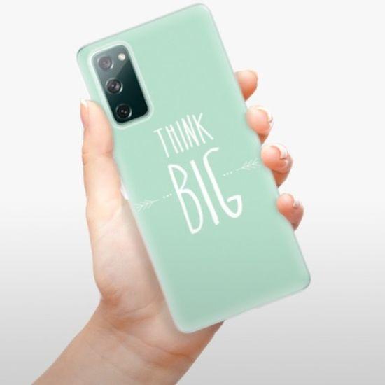 iSaprio Think Big szilikon tok Samsung Galaxy S20 FE