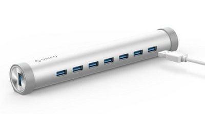 Orico ARH7-U3 USB čvorište, 7 priključaka, vanjsko napajanje