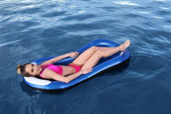 Bestway 43156 Nadmuchiwany leżak Summer Vibes, 161 x 86 cm