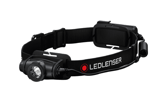 LEDLENSER H5 Core svetilka, naglavna, baterijska, črna