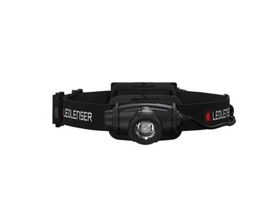 LEDLENSER H5R Core svetilka, naglavna, polnilna, črna