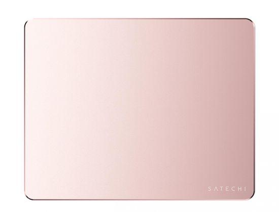 Satechi podloga za miško, aluminijasta, Rose Gold