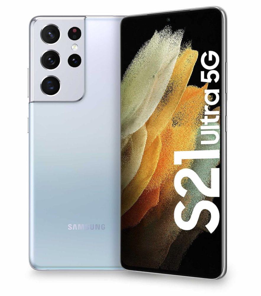 Samsung Galaxy S21 Ultra 5G, 12GB/128GB, Silver