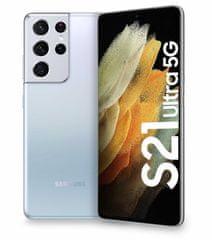 Galaxy S21 Ultra 5G mobilni telefon, 12GB/256GB, fantomsko srebrn