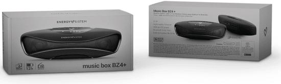 Energy Sistem Music Box BZ4+, čierna