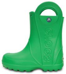 Crocs 12803-3E8 Handle It Rain Boot Kids otroški škornji, zeleni, 24/25