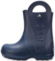 Crocs 12803-410 Handle It Rain Boot Kids fantovski škornji, temno modri, 29/30