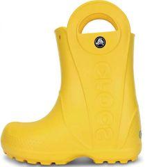 Crocs 12803-730 Handle It Rain Boot Kids otroški škornji, rumeni, 34/35