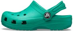 Crocs 204536-3TJ Classic Clog K otroški natikači, zeleni, 25/26