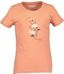 Blue Seven dievčenské tričko 502672 X_1 oranžová 140