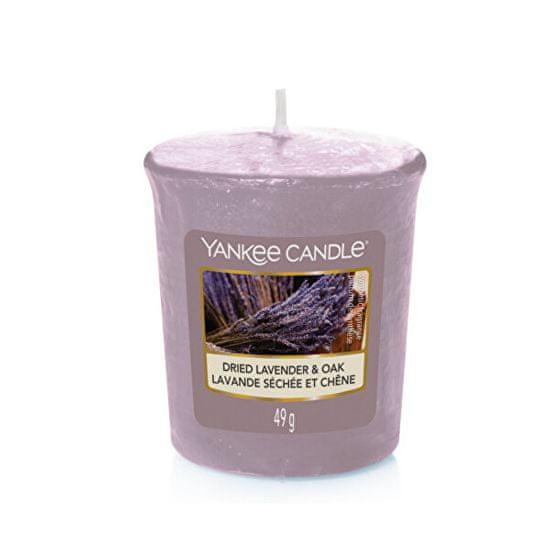 Yankee Candle Aromatična votive Sveča Dried Lavender & Oak 49 g