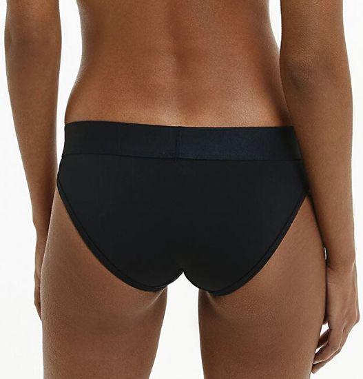 Calvin Klein Majtki damskieTonal Logo Bikini QF4943E-001 czarne