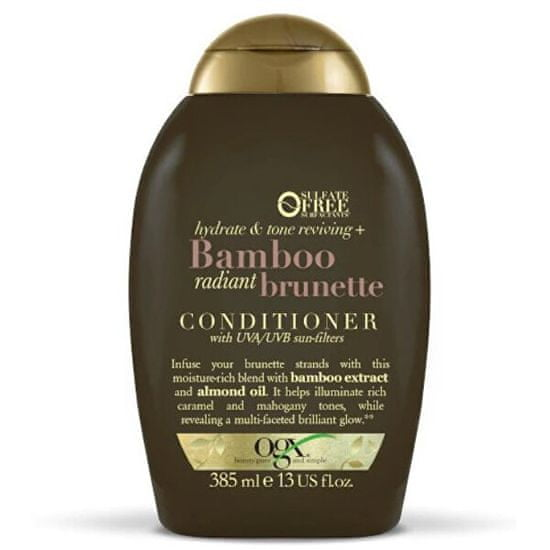 OGX Hydratační balzám bruneta Bambus s UVA/UVB filtrem 385 ml