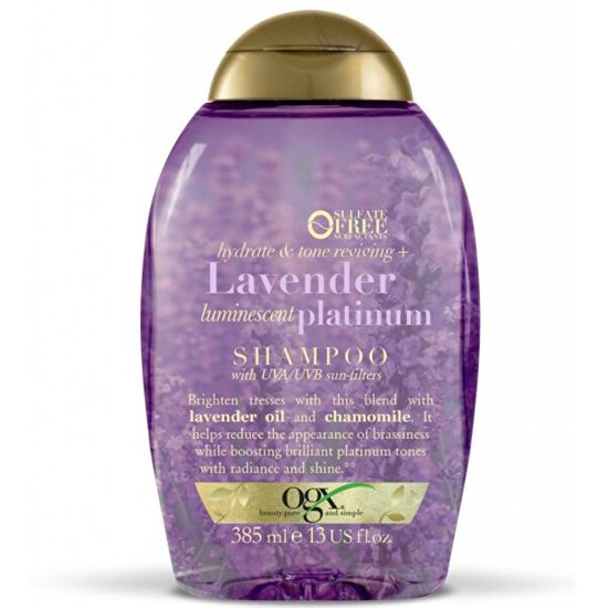 OGX Hydratační šampon Levandule s UVA/UVB filtrem 385 ml