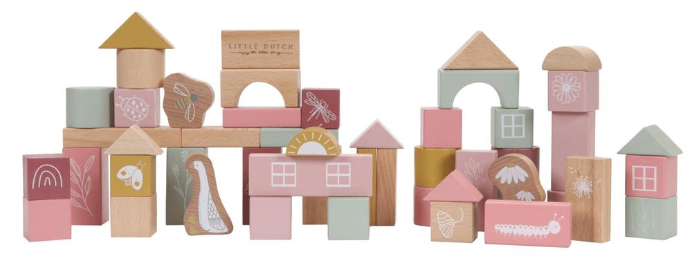 Little Dutch Kostky v tubě pink