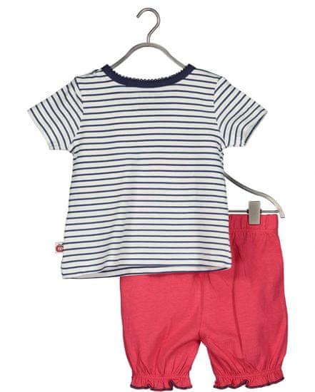 Blue Seven 422123 X dekliški komplet z majico in kratkimi hlačami