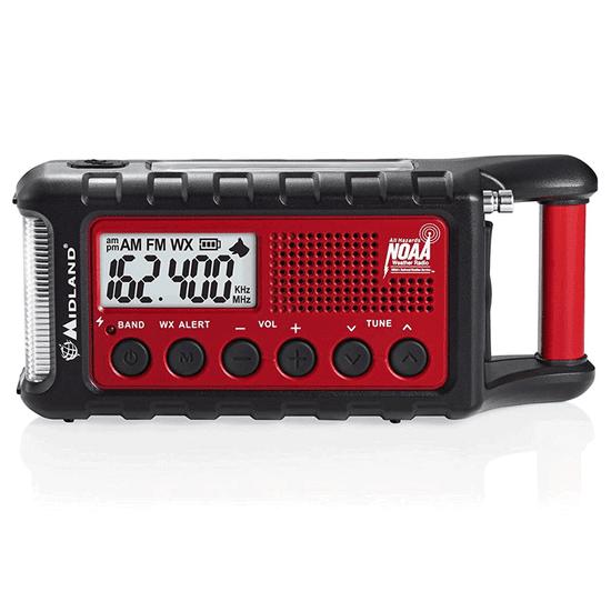 Midland Solárne rádio Midland ER300 s dynamom a LED baterkou