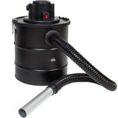 tectake Krbový vysavač na popel 1200W s filtrem - černá