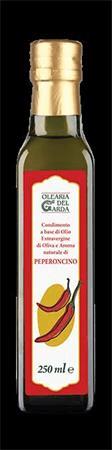 Olearia del Garda Chilli olivový olej extra virgin 250 ml
