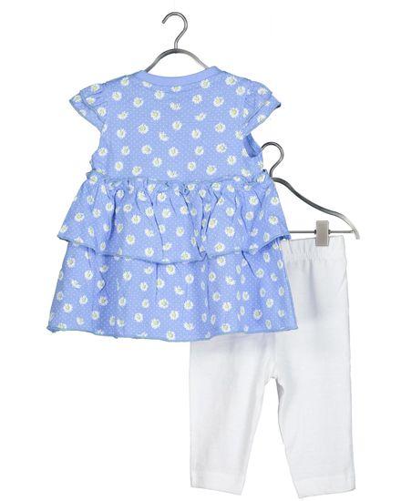 Blue Seven 422127 X dekliški komplet z majico in pajkicami