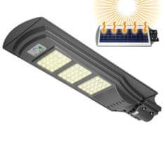 ECD Germany LED solární pouliční osvětlení 60W, studená bílá, vodotěsné
