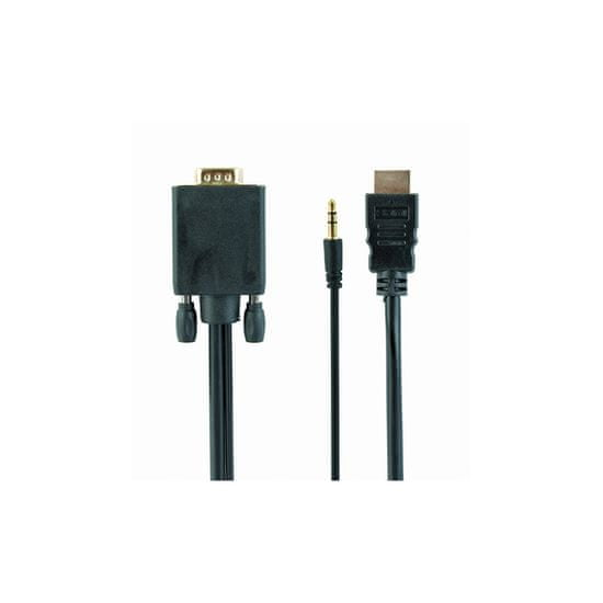 CABLEXPERT Kabel HDMI na VGA + audio 1.8m