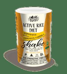 Living Foods Active Rice Diet Shake Vanilla 500g - bioaktívna ryžová diéta z hnedej ryže, kvasené ryžové otruby s proteínom aj na bielkovinovú dietu, biologicky plnohodnotná superpotravina.